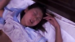 Teen Asian chick got her pussy hotly masturbates with vibrator toy