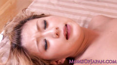 Awesome lesbian girlfriends are hotly fucking with sex toy