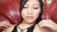 The mind blowing Asian masturbation session