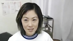 Fuck hungry Asian oculist seduces and fucks beautiful patient chick