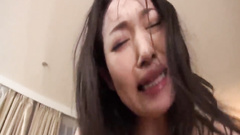 Charming Japanese chick Ryu Enami is having hairy pussy licked and fingered